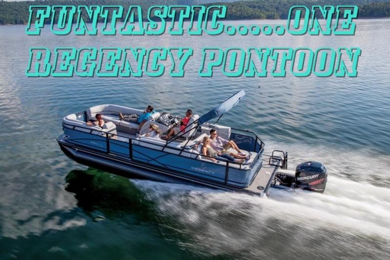 FUNTASTIC ONE, REGENCY 254-DL3 PONTOON