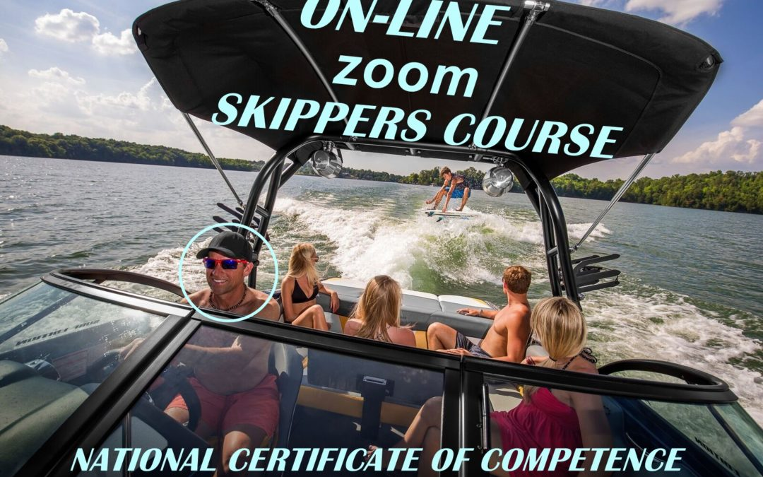 NEXT ON-LINE 'ZOOM' SKIPPERS COURSE ON 13.06.2021